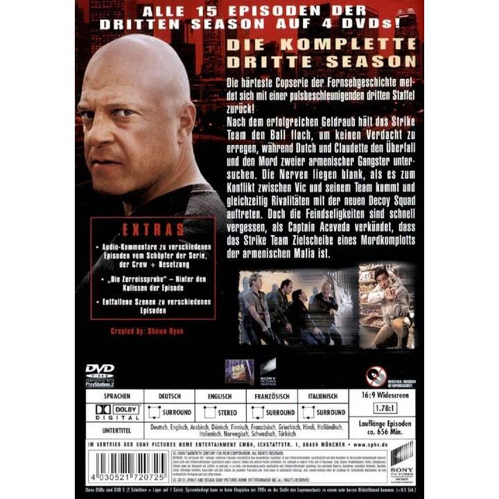 The Shield Saison 3 (EN, DE, FR, IT)