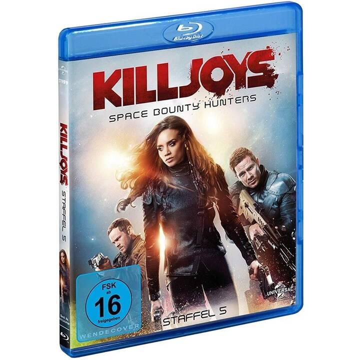 Killjoys - Space Bounty Hunters - Die finale Staffel (EN, DE)