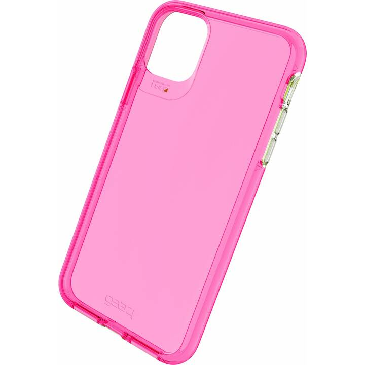 GEAR4 Backcover D3O Crystal Palace (iPhone 11 Pro Max, Pink)