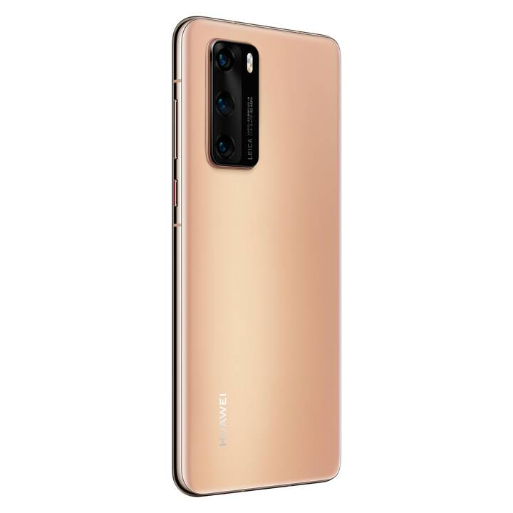 """HUAWEI P40 (5G, 6.1"""", 128 GB, 50 MP, Blush Gold) – OHNE Google Mobile Services"""