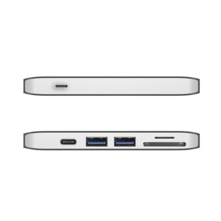 USB 3.0 Type-C Docking j5create Ultradri