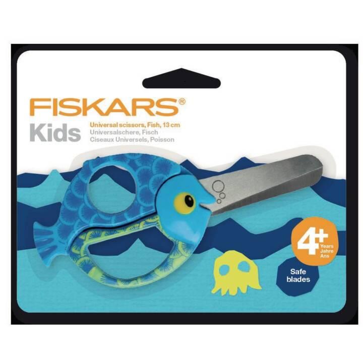 FISKARS Ciseaux pour enfants poissons