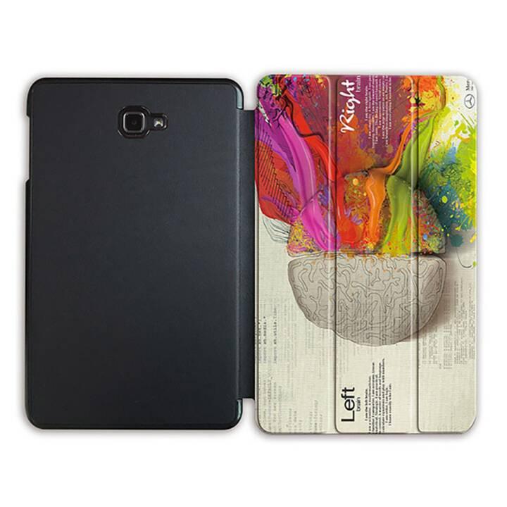 """EG MTT Tablet Tasche mit Smart faltbare Abdeckung für Samsung Galaxy Tab A 10.1"""" (2016)- Gehirn"""