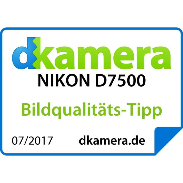 NIKON D7500 (20.9 MP, Bluetooth, WLAN)