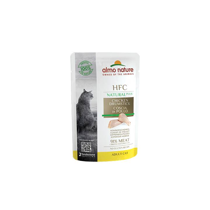 ALMO NATURE HFC Natural Plus (Adult, 55 g, Huhn)