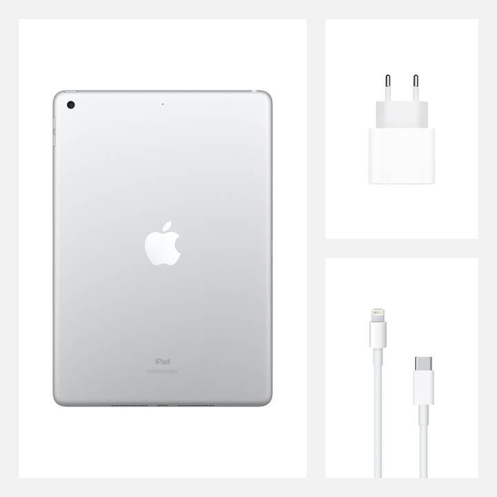 "APPLE iPad WiFi 2020 (10.2"", 128 GB, Argent)"