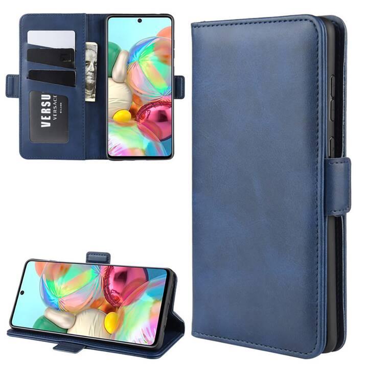 """EG Mornrise Custodia a portafoglio per Samsung Galaxy A21 6.5 """"2020 - Blu scuro"""