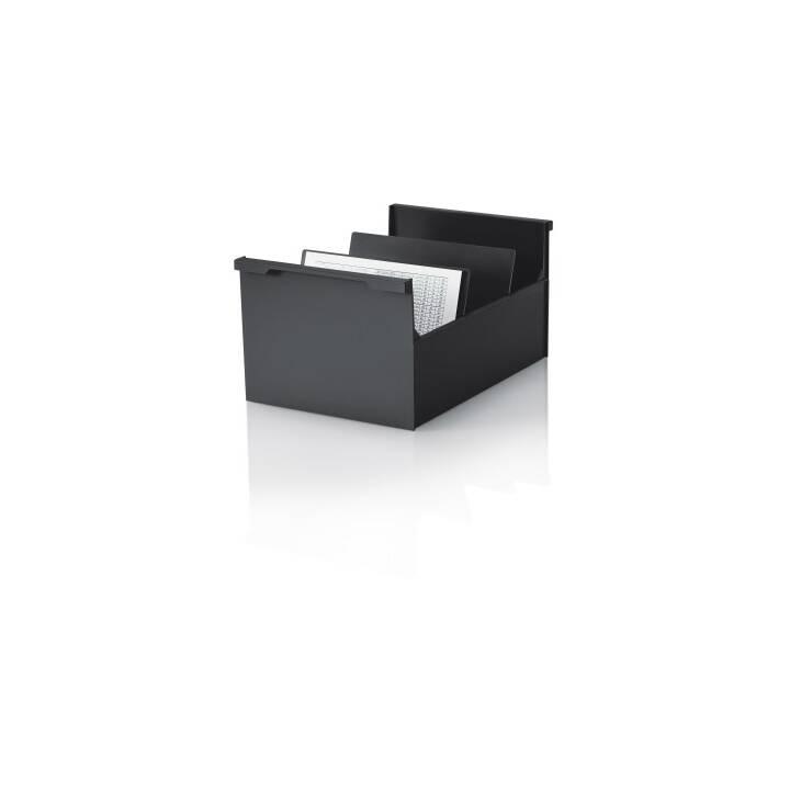 STYRO Boîte à fiches, A5, noir