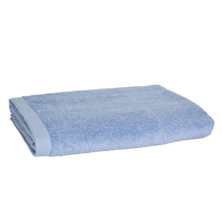 LIVIQUE Badetuch Diana (90 cm x 160 cm, Blau)