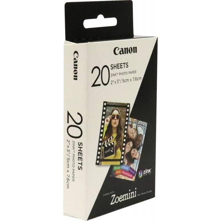 CANON Zink Carta fotografica (Bianco)