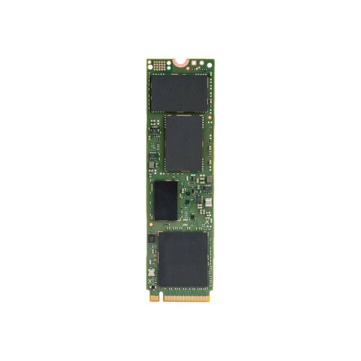 INTEL 600p (PCI Express, 1000 GB, Grün)