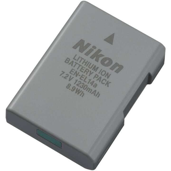 NIKON EN EL14a Batterie de caméra, Li-Ion, 1230 mAh
