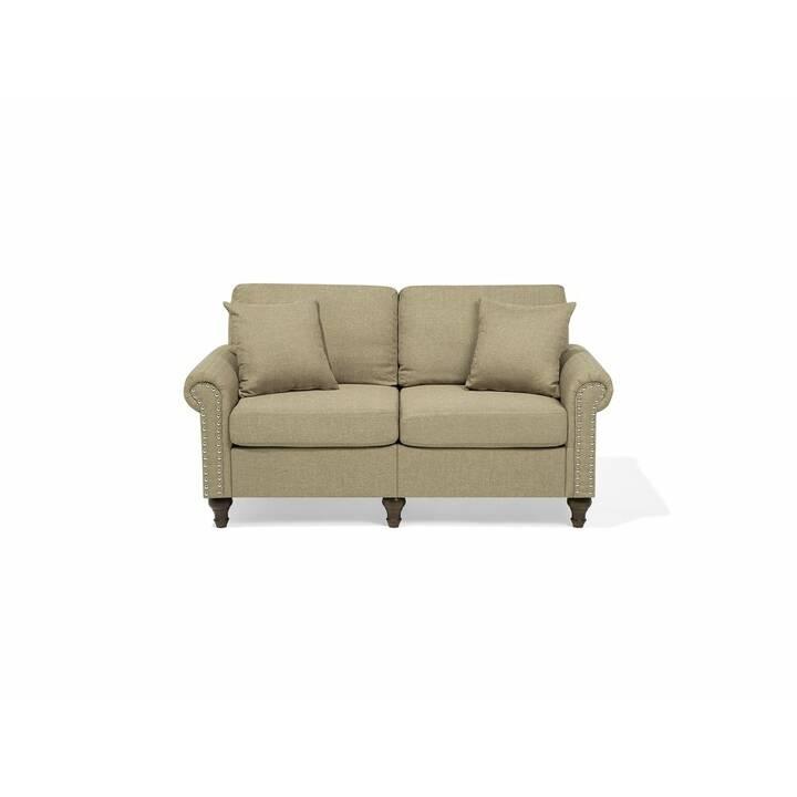 BELIANI Otra Sofa Set (Polyester, Beige, 195 cm x 84 cm)