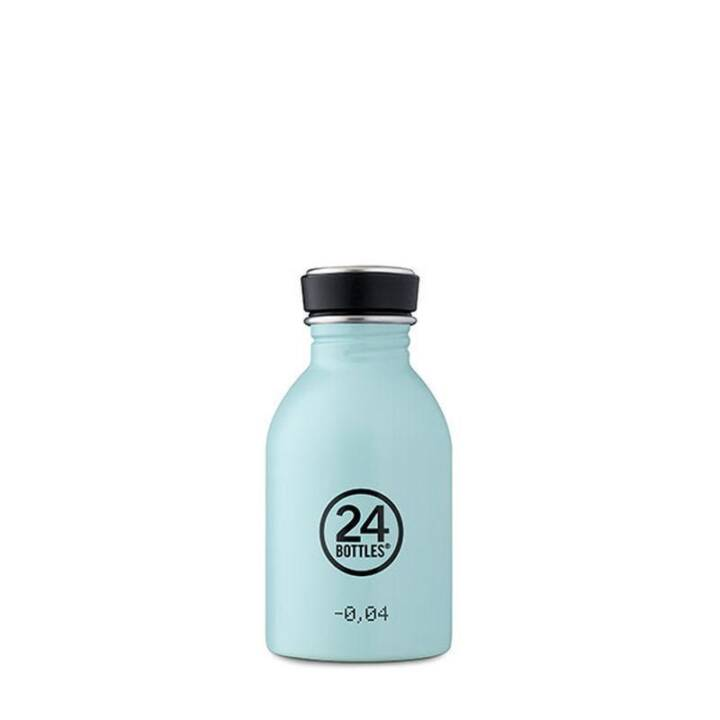 24BOTTLES Bouteille Urban Cloud Blue (Bleu, 0.25 l)