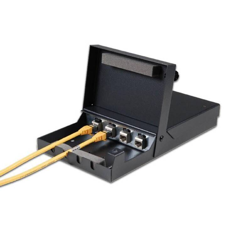 Keystone System Aufputz Metal Box für 4