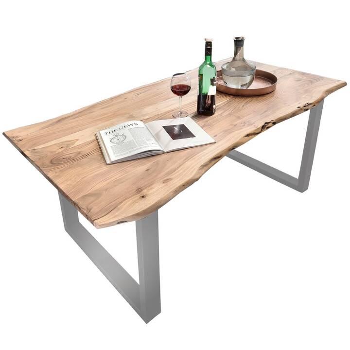 SIT Tavolo da pranzo Unique (180 cm x 90 cm x 78 cm, Marrone, Metallo)