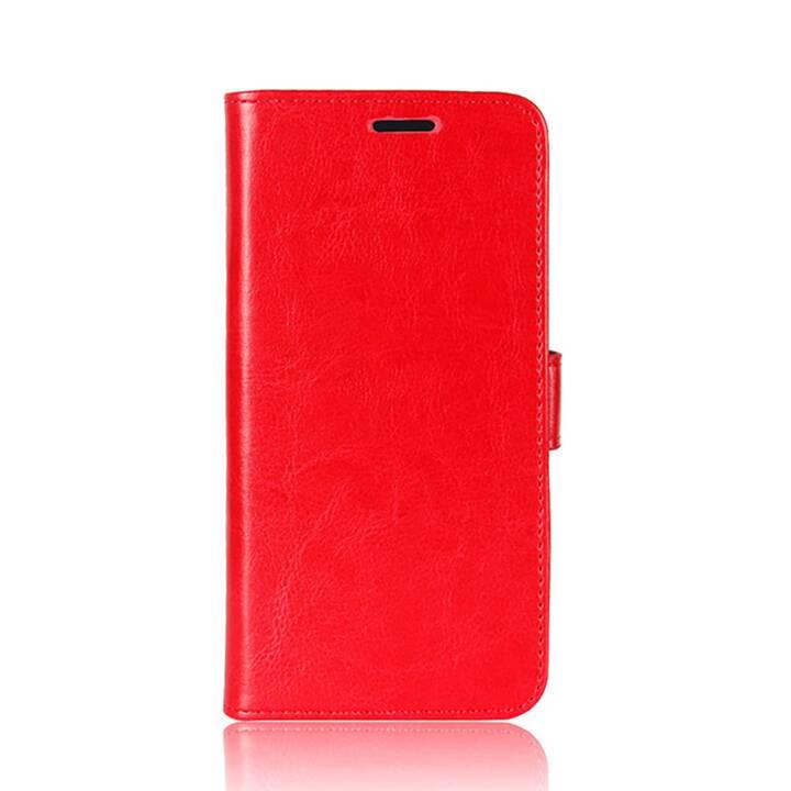 """EG Mornrise Brieftasche für Samsung Galaxy A20 6.4"""" 2019 - Rot"""