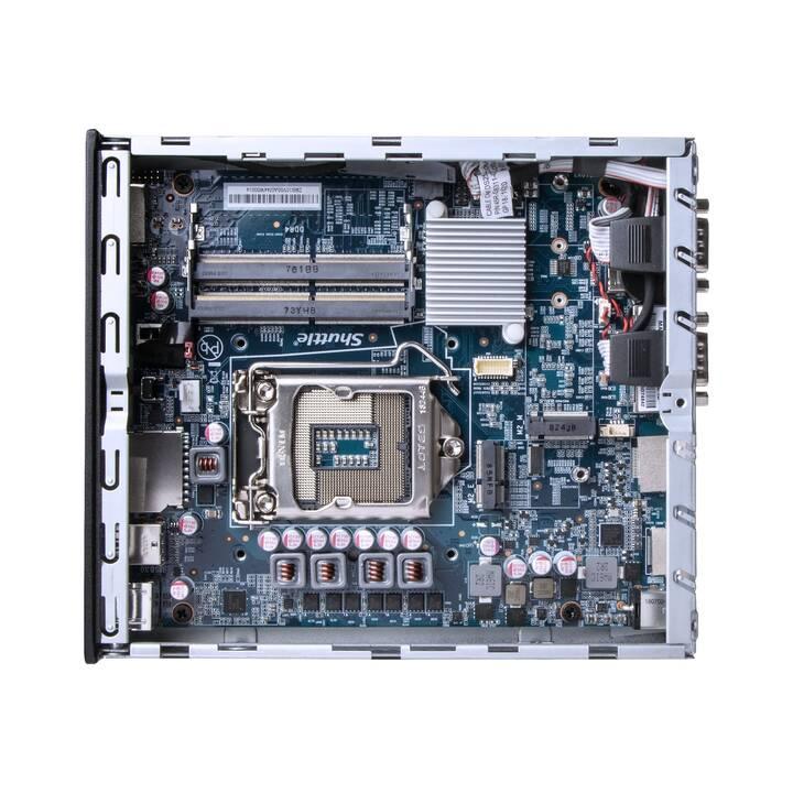 SHUTTLE XPC slim DH310V2 (Intel Core i3 Intel Core i5 Intel Core i7 Intel Core i9, 0 GB, 128 GB SSD)