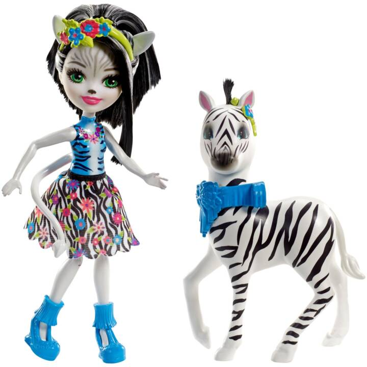MATTEL Enchantimals Zelena Zebra