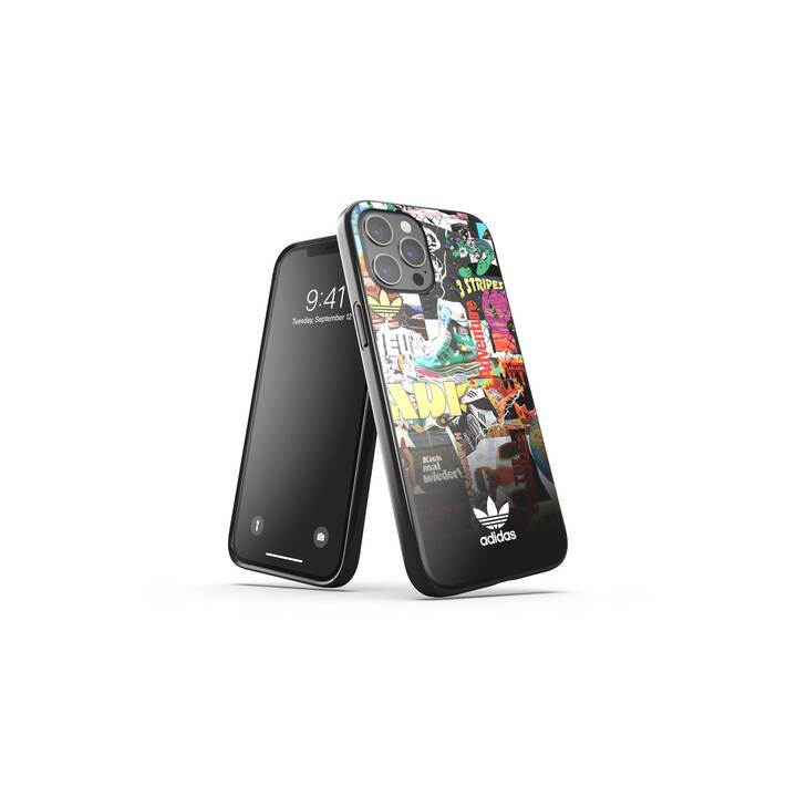ADIDAS Backcover Snap Graphic (iPhone 12 Pro Max, Multicolore)