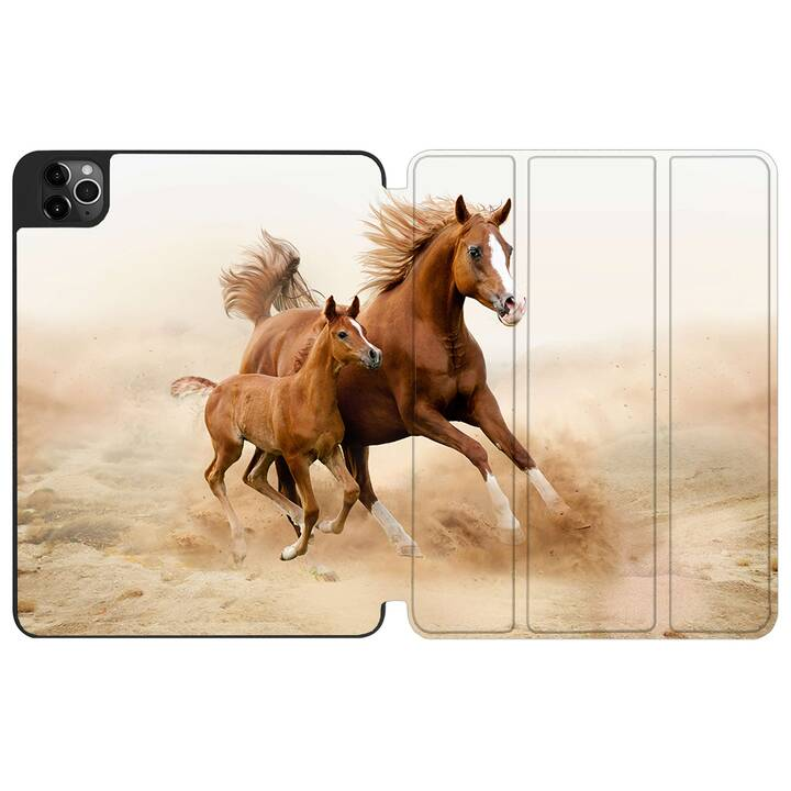 """EG MTT couverture pour iPad Pro 12,9"""" (2020) 4e génération A2229 A2233"""