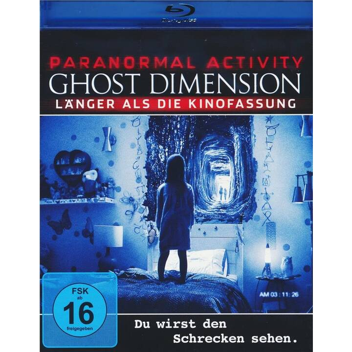 Paranormal Activity 5 - Ghost Dimension (IT, ES, JA, DE, EN, FR)