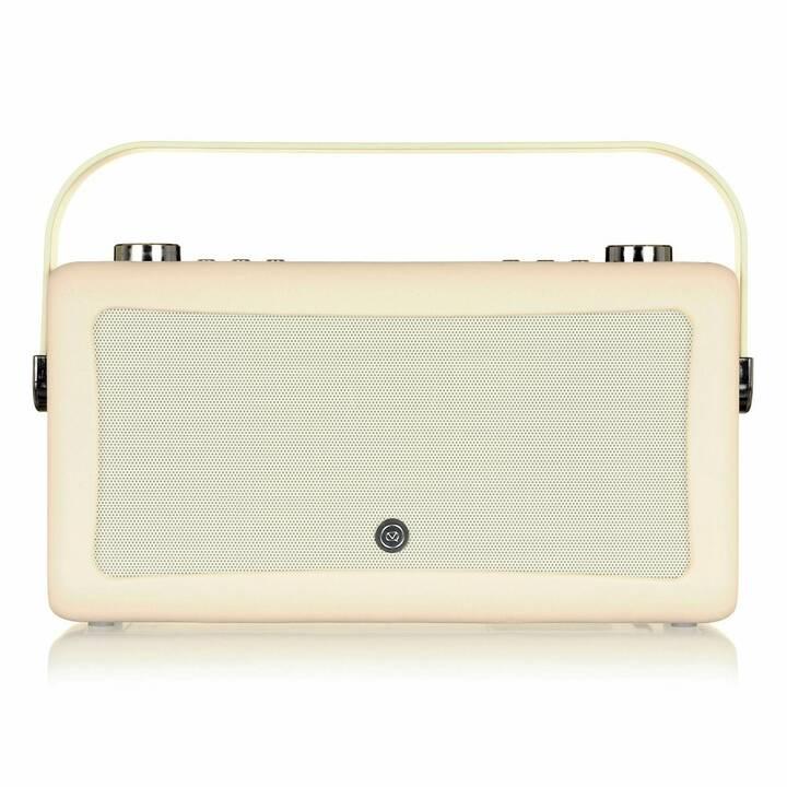 VIEW_QUEST Hepburn MkII Radio per cucina / -bagno (Crema)