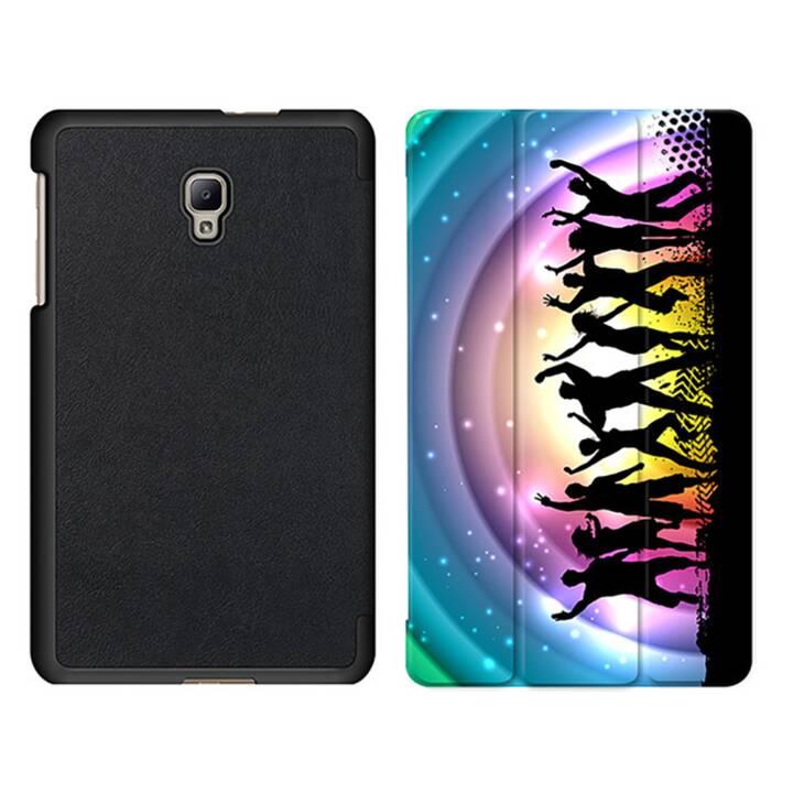"""EG MTT Sacoche à comprimés avec housse pliable Smart Foldable pour Samsung Galaxy Tab A 8"""" (2017) Tablet - Party"""