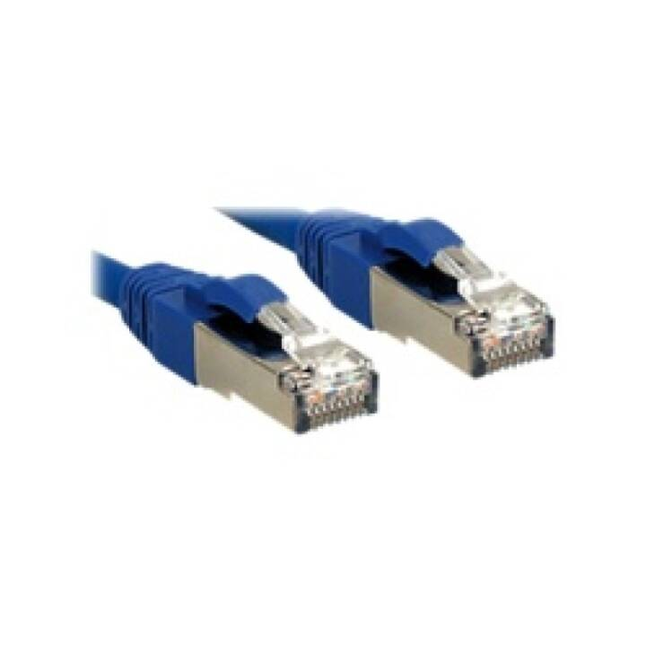 Cavo patch LINDY Premium - 2 m - Blu