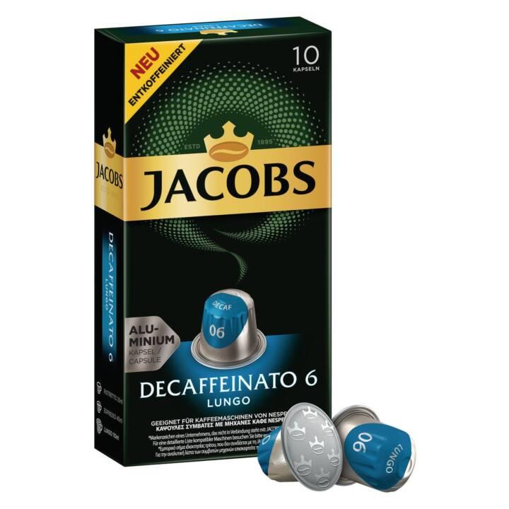 JACOBS Kaffeekapseln Lungo 6 Decaffeinato