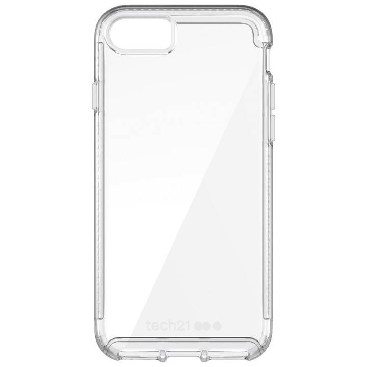 TECH 21 Backcover Pure Clear (iPhone 8, iPhone SE, iPhone 7, Transparente)