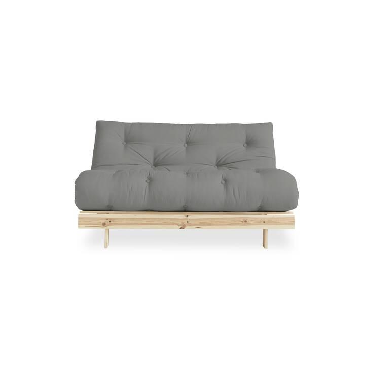 KARUP DESIGN Canapé-lit Roots 140 gris