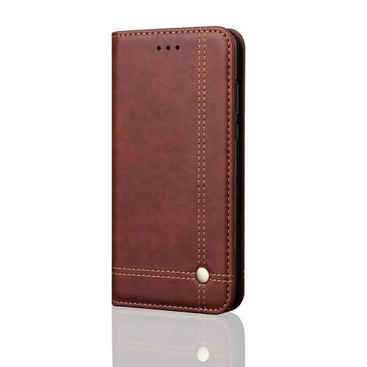 EG Mornrise Custodia a portafoglio per Xiaomi Mi 9T - Marrone scuro
