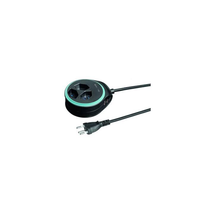 STEFFEN STEBA DISC 3 × T13 USB Noir / Bleu clair
