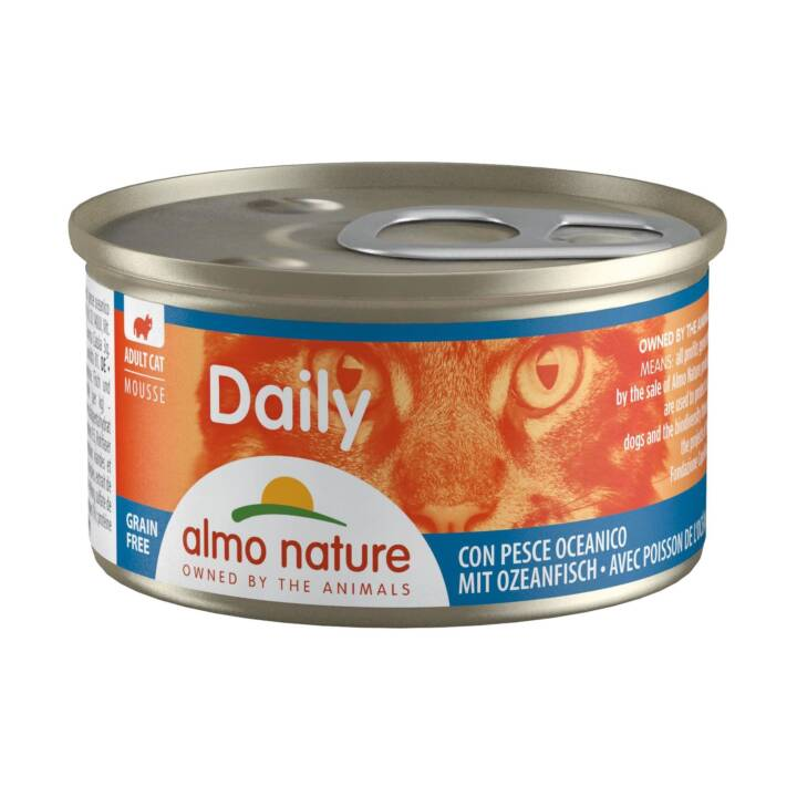 ALMO NATURE Daily Mousse (Adulto, 85 g, Pesce)