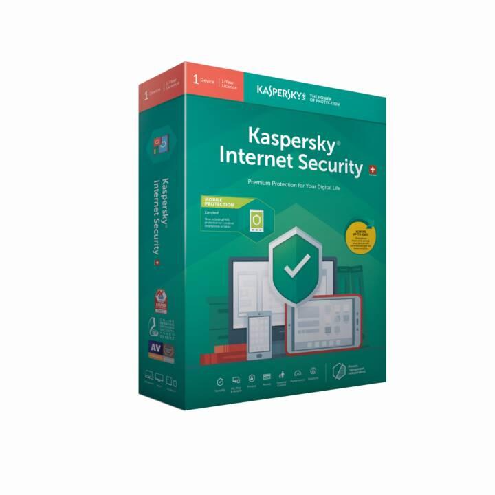 KASPERSKY LAB Internet Security Base  (Tedesco, Francese, Italiano)