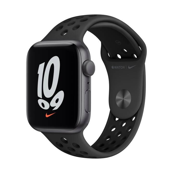APPLE Watch Nike SE GPS (44 mm, Aluminium, GPS)