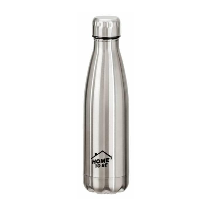 HOME TO BE Bottiglia sottovuoto (500 ml, Argento)