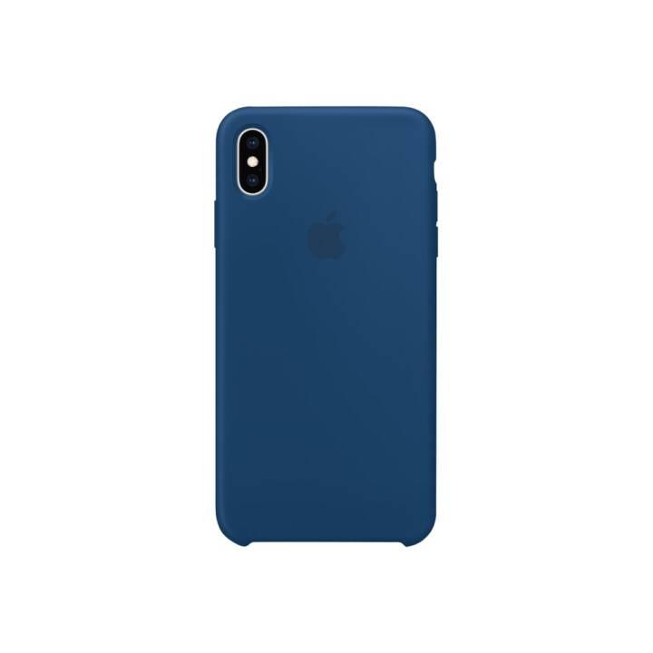 APPLE iPhone XS Max étui en silicone, Horizon Blue