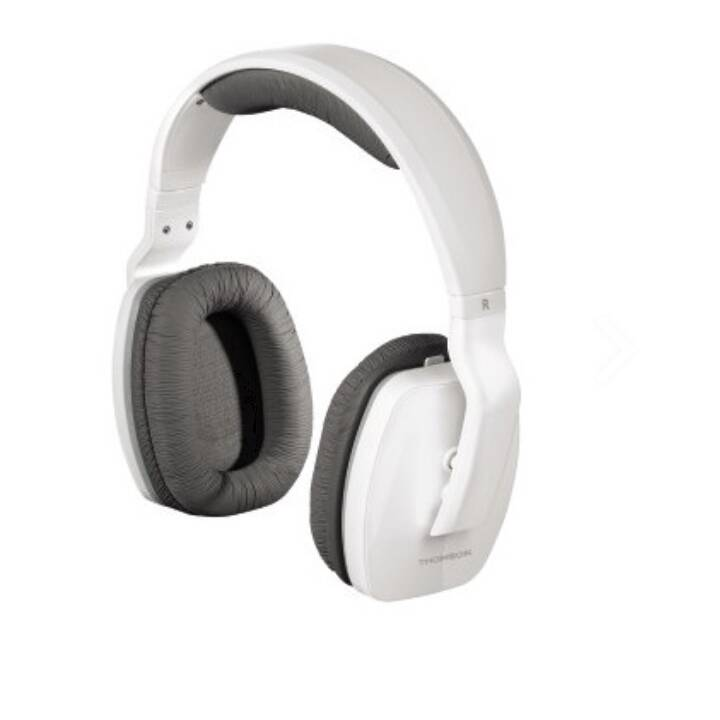 THOMSON WHP3311W (On-Ear, Blanc)