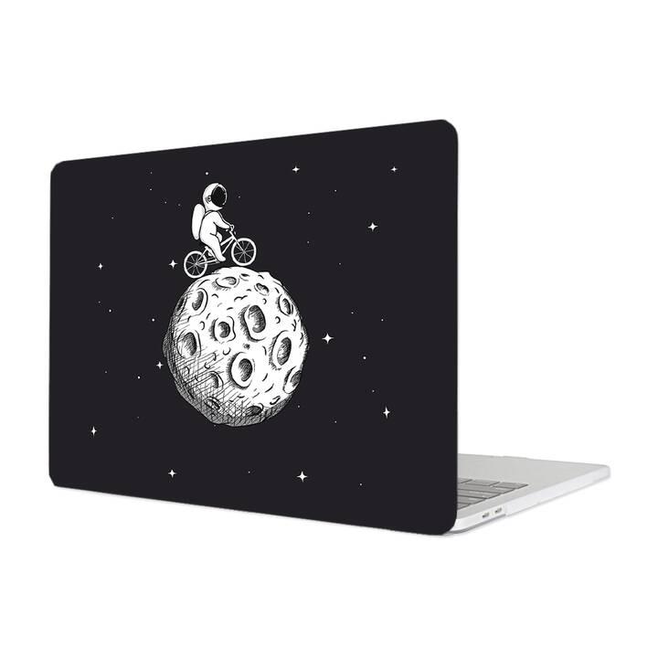 """EG MTT Étui pour Macbook Pro 13"""" CD-ROM (2008 - début 2012) - Cartoon Astronaut"""