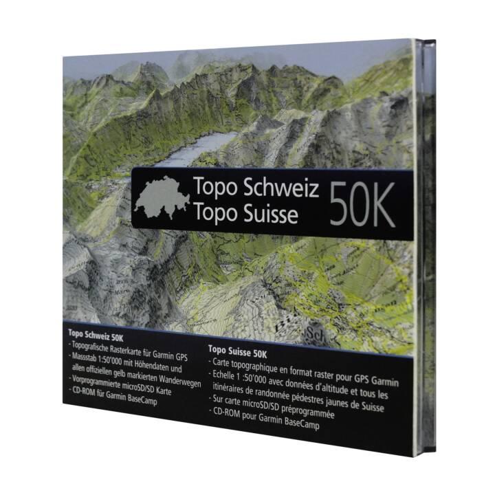GARMIN TOPO Schweiz 50K