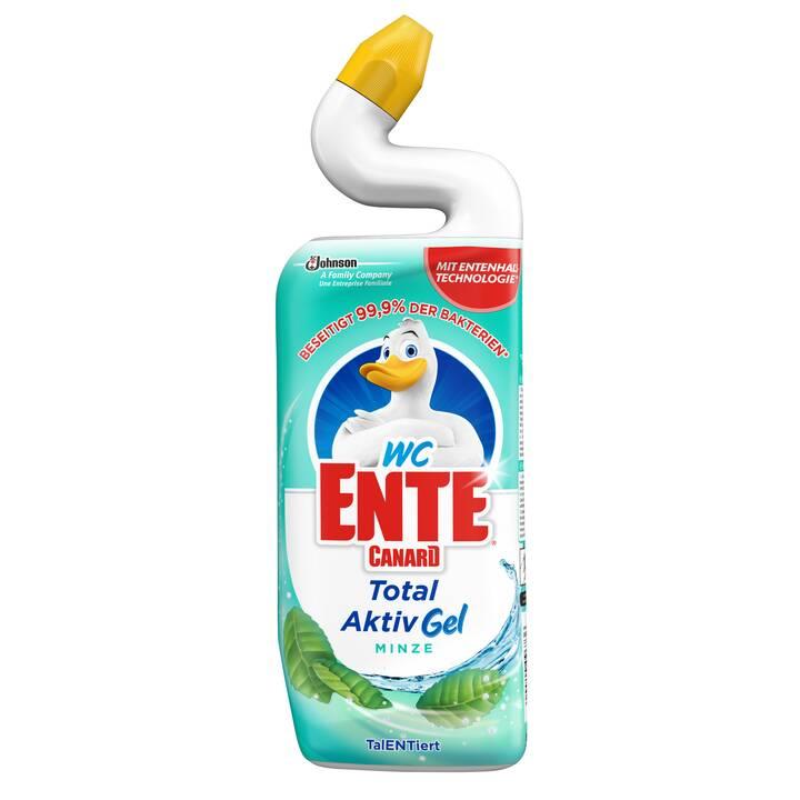 WC-ENTE Detergente per WC Total Aktiv Gel Minze (0.75 l)