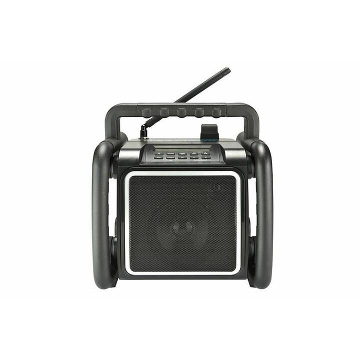 PERFECTPRO Teambox  Radio cantiere (Nero)