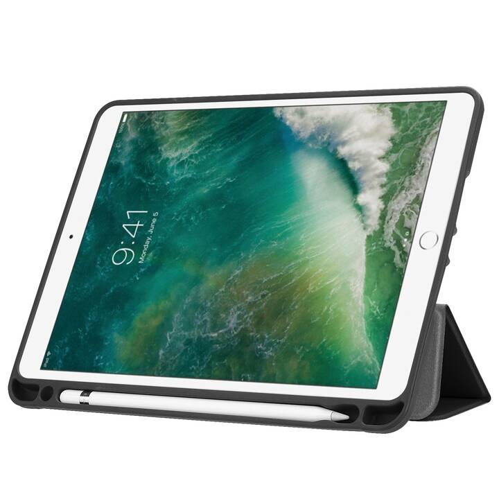 """EG MTT Custodia per Apple iPad Mini 5 2019 7,9"""" - Venatura del legno"""