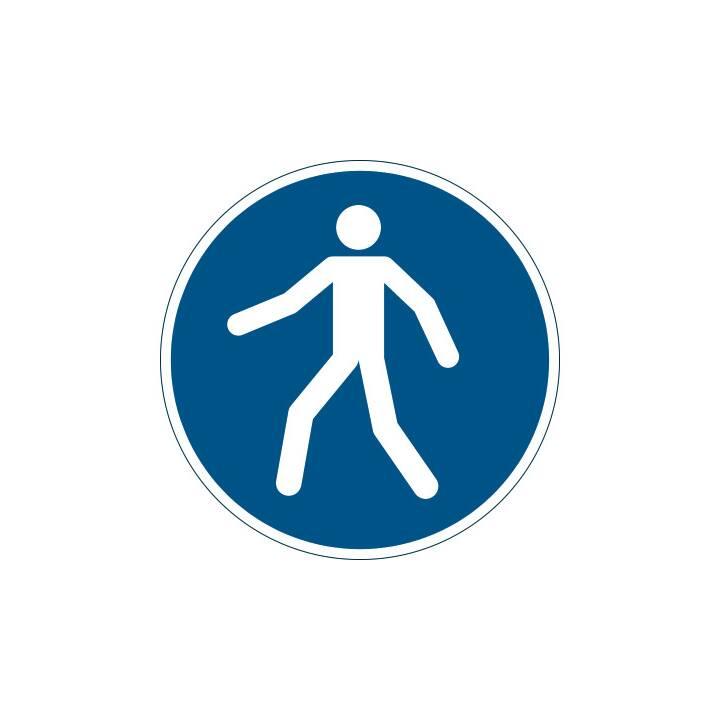Simbolo di percorso pedonale DURABILE