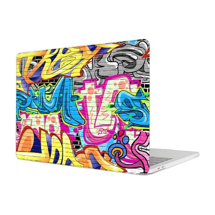 "EG MTT Hülle für Macbook Pro 13"" Touchbar (2016 - 2018) - Graffiti"