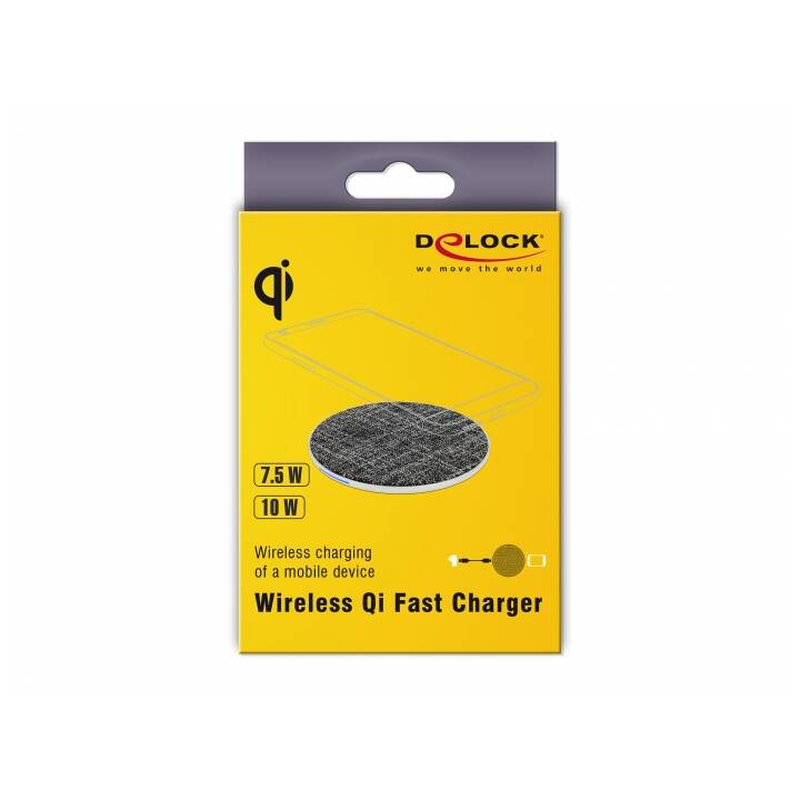 DELOCK Chargeur sans fil (2000 mA, 10 W)