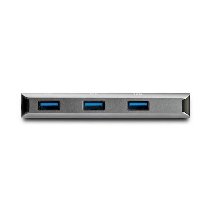 STARTECH.COM HB31C3ASDMB  (3 Ports, USB Typ-A, USB Typ-C)