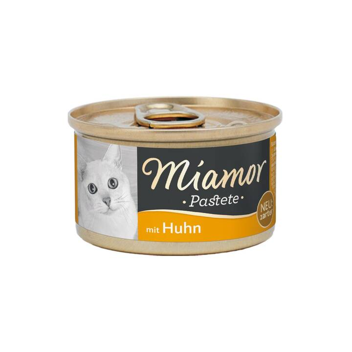 MIAMOR Pastete (Adulto, 85 g, Pollo)
